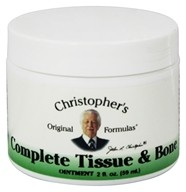 Dr. Christopher's Original Formulas - Complete Tissue & Bone Ointment - 2 oz. (084783340041)