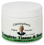 Dr. Christopher's Original Formulas - Complete Tissue & Bone Ointment - 2 oz. by Dr. Christopher's Original Formulas