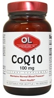 Image of Olympian Labs - Coenzyme Q10 100 mg. - 90 Softgels