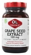 Olympian Labs - Grape Seed Extract 120 mg. - 100 Vegetarian Capsules by Olympian Labs