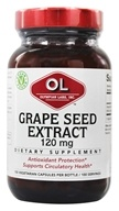 Image of Olympian Labs - Grape Seed Extract 120 mg. - 100 Vegetarian Capsules