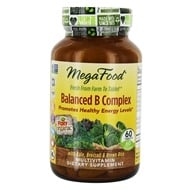 Image of MegaFood - DailyFoods Balanced B Complex - 60 Vegetarian Tablets