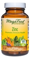 MegaFood - DailyFoods Zinc Bioactive & Bioavailable - 60 Vegetarian Tablets