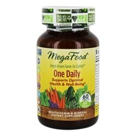MegaFood - DailyFoods One Daily - 60 Vegetarian Tablets