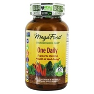 Image of MegaFood - DailyFoods One Daily - 90 Vegetarian Tablets