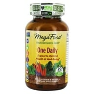 MegaFood - DailyFoods One Daily - 90 Vegetarian Tablets, from category: Vitamins & Minerals