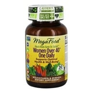 MegaFood - DailyFoods Women Over 40 One Daily - 30 Vegetarian Tablets - $23.23