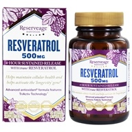 ReserveAge Organics - Resveratrol 500 mg. - 30 Vegetarian Capsules, from category: Nutritional Supplements