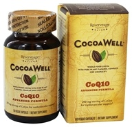 CocoaWell - Advanced CoQ10 Heart 200 mg. - 60 Vegetarian Capsules by CocoaWell