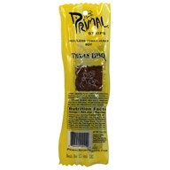 Meatless Vegan Jerky Soy Texas BBQ Flavor - 1 Count by Primal Strips