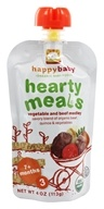 HappyBaby - Organic Baby Food Stage 3 Meals Ages 7+ Months Beef Stew - 4 oz. by HappyBaby