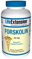 Life Extension - Forskolin 10 mg. - 60 Capsules CLEARANCE PRICED