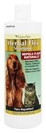 NaturVet - Herbal Flea Shampoo For Dogs & Cats - 16 oz.