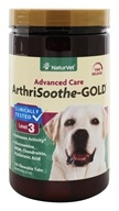 NaturVet - ArthriSoothe Gold For Cats & Dogs - 120 Chewable Tablets CLEARANCE PRICED