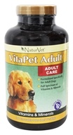 NaturVet - VitaPet Adult Multivitamin For Dogs - 180 Chewable Tablets (797801030250)