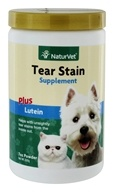 NaturVet - Tear Stain Supplement Powder - 200 Grams (797801038102)
