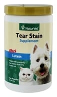 NaturVet - Tear Stain Supplement Powder - 200 Grams by NaturVet