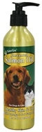 NaturVet - Salmon Oil Unscented - 8.75 oz. CLEARANCE PRICED