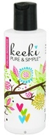 Keeki Pure & Simple - Nail Polish Remover Non-Toxic - 4 oz.