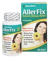 Image of NaturalCare - AllerFix Homeopathic Natural Allergy Relief - 60 Vegetarian Capsules