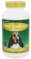 NaturVet - Stool Deodorizer Plus - 60 Chewable Tablets