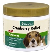 Image of NaturVet - Cranberry Relief Powder - 50 Grams