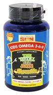 Image of Health From The Sun - Kids Omega 3-6-9 The Total EFA Junior Chewable Orange Flavor - 90 Chewable Softgels