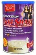 Kardashian - QuickTrim Fast-Shake Energizing Weight Loss Protein Shake Vanilla - 14 oz., from category: Diet & Weight Loss