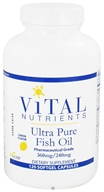 Vital Nutrients - Ultra Pure Fish Oil 360mg/240mg Lemon Flavor - 120 Softgels