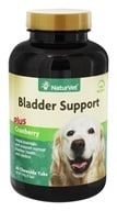 NaturVet - Senior Bladder Support For Dogs - 60 Chewable Tablets