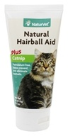 NaturVet - Natural Hairball Aid With Catnip - 3 oz.