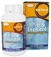 Enzymatic Therapy - Cell Forte With IP-6 & Inositol - 60 Chewable Tablets