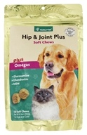 NaturVet - Hip & Joint Plus Soft Chews For Cats & Dogs - 120 Chews