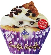 Zorbitz - Sweet Life Cupcake Necklace Cookie Dough - CLEARANCE PRICED