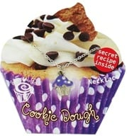 Image of Zorbitz - Sweet Life Cupcake Necklace Cookie Dough - CLEARANCE PRICED