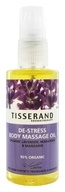 Tisserand Aromatherapy - Body Massage Oil De-Stress Organic Lavender, Marjoram & Mandarin - 3.3 oz., from category: Aromatherapy