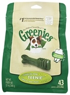 Greenies - Dental Chews For Dogs Teenie (For Dogs 5-15 lbs.) - 43 Chews by Greenies