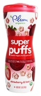 Plum Organics - Baby Organic Super Puffs Super Reds Strawberry & Beet - 1.5 oz. - $3.40