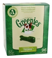 Greenies - Dental Chews For Dogs Teenie (For Dogs 5-15 lbs.) - 96 Chews (642863041334)