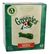 Greenies - Dental Chews For Dogs Petite (For Dogs 15-25 lbs.) - 45 Chews (642863041266)
