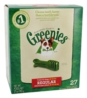 Greenies - Dental Chews For Dogs Regular (For Dogs 25-50 lbs.) - 27 Chews (642863041198)