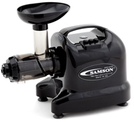 Samson Brands - Advanced Juicer Single Auger Multi-Use Model GB9005 Black by Samson Brands