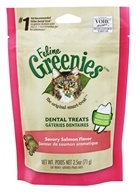 Greenies - Feline Dental Treats Savory Salmon - 2.5 oz. by Greenies