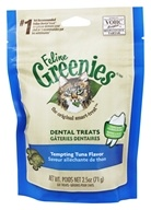 Greenies - Feline Dental Treats Tempting Tuna - 2.5 oz., from category: Pet Care