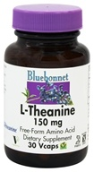 Image of Bluebonnet Nutrition - L-Theanine 200 mg. - 50 Vegetarian Capsules
