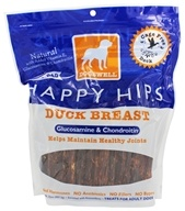 Image of Dogswell - Happy Hips With Glucosamine & Chondroitin Duck Breast Jerky - 32 oz.