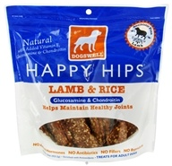 Dogswell - Happy Hips With Glucosamine & Chondroitin Lamb & Rice Jerky - 15 oz.