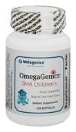 Metagenics - OmegaGenics DHA Children's Natural Tutti-Frutti Flavor - 120 Softgels (formerly Children's DHA) (755571925565)