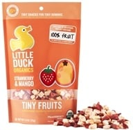 Image of Little Duck Organics - Strawberry Mango Tiny Fruits - 1 oz.