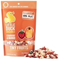 Little Duck Organics - Strawberry Mango Tiny Fruits - 1 oz., from category: Health Foods